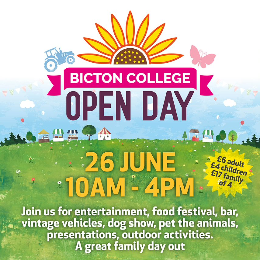 Bicton College Open Day
